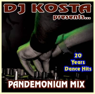 Cover Album of DJ Kosta - Pandemonium Mix