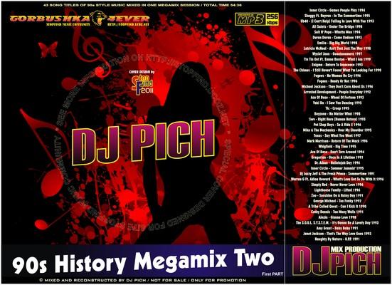 DJ Pich - 90s History Megamix 02 part I