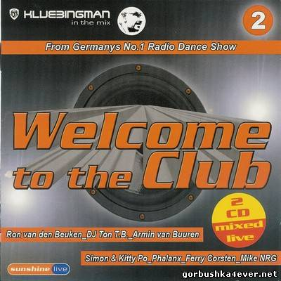 DJ Klubbingman - Welcome to the Club vol 02 / 2xCD